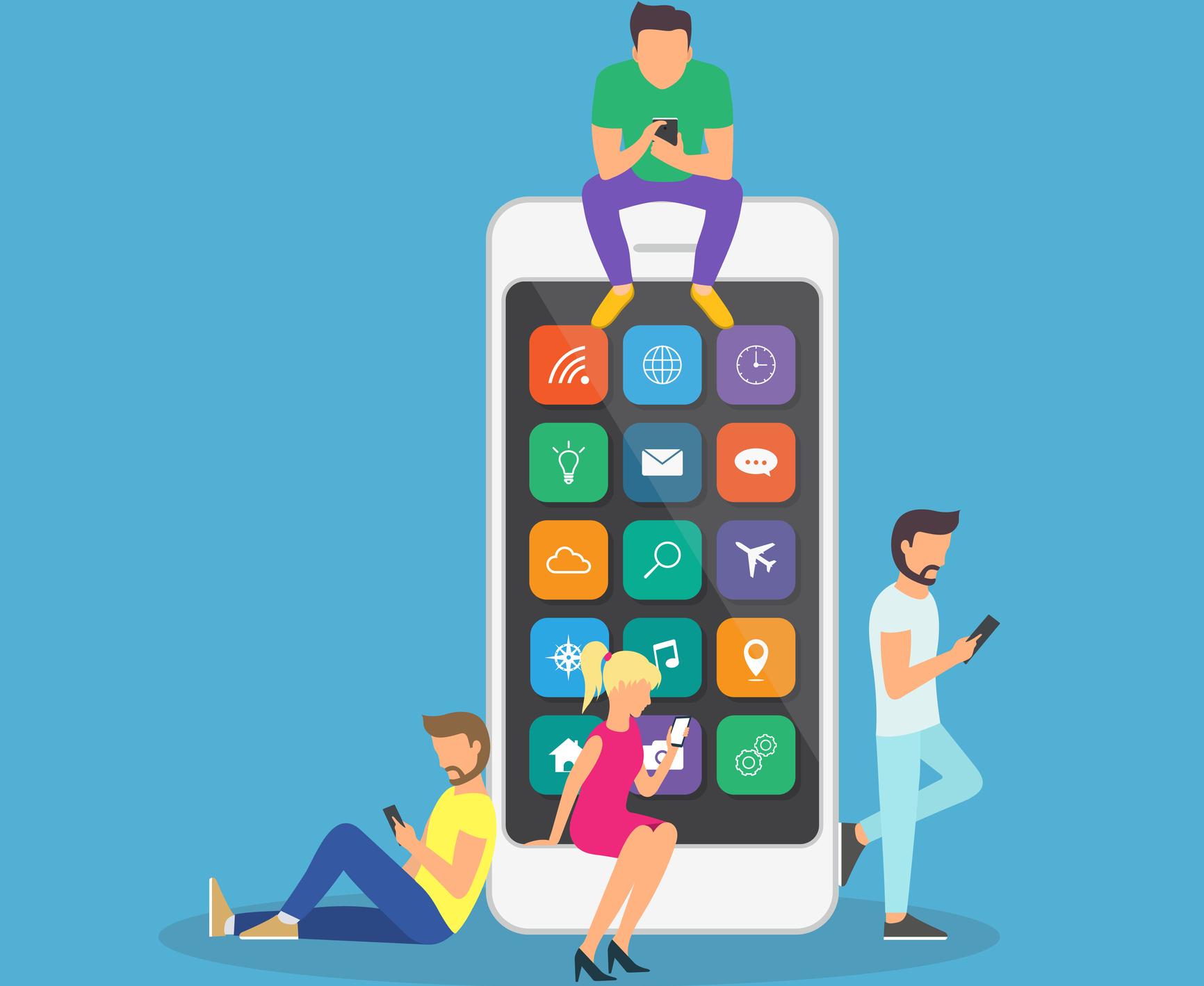 Conheça os números do uso de aplicativos no Brasil